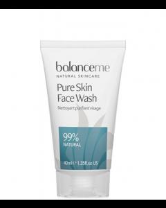 Balance Me Pure Skin Face Wash, 40 ml.