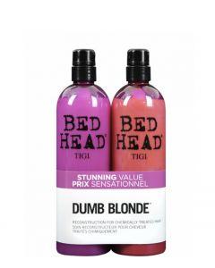 TIGI Bed Head Dumb Blonde Tween Duo, 2x750 ml.