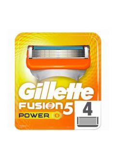 Gillette Fusion Power Barberblade, 4 stk.