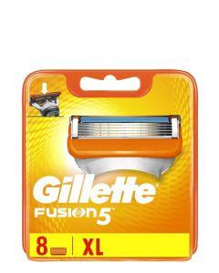 Gillette Fusion5 Barberblade, 8 stk.