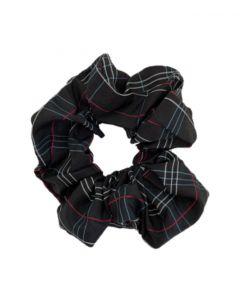 JA•NI hair Accessories - Hair Scrunchie, The Black Checkered