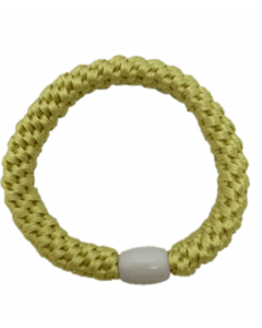 JA•NI Hair Accessories - Hair elastics, The Light Yellow