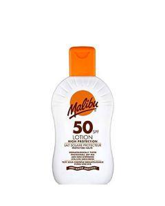 Malibu Protective Sun Lotion SPF50, 100 ml.