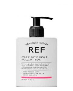 REF Colour Boost Masque Brilliant Pink, 200 ml.