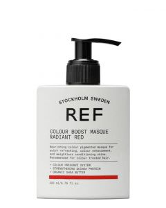 REF Colour Boost Masque Radiant Red, 200 ml.