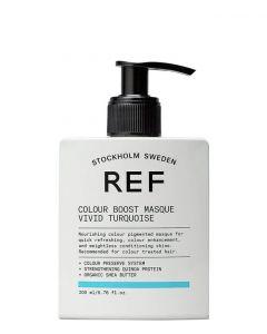 REF Colour Boost Masque Vivid Turquoise, 200 ml.
